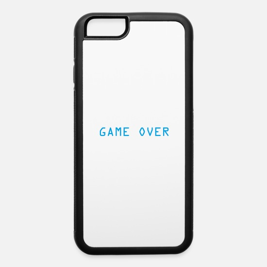 Game iPhone Cases - Game Over - iPhone 6 Case white/black