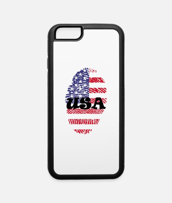 Usa iPhone Cases - united states 650588 1920 rv - iPhone 6 Case white/black