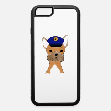 French Bulldog Frenchie police Dog Lover gift idea - iPhone 6 Case