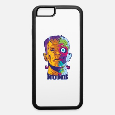 Psychedelic Zombie head psychedelic horror drugs. - iPhone 6 Case