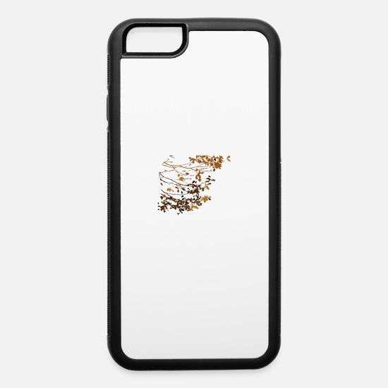 Love iPhone Cases - autumn leaf - iPhone 6 Case white/black