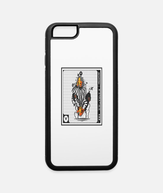 Turn Table iPhone Cases - Street Wear - iPhone 6 Case white/black