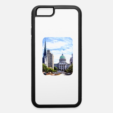 Historical Landmark Harrisburg PA - Capitol Building Seen from State S - iPhone 6 Case