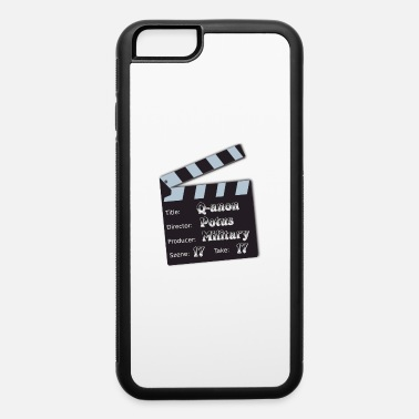 Revolution Q anon take 17 - iPhone 6/6s Rubber Case