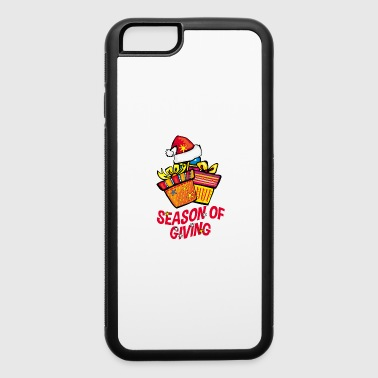 Christmas is the season of giving - gift ideas - iPhone 6/6s Rubber Case