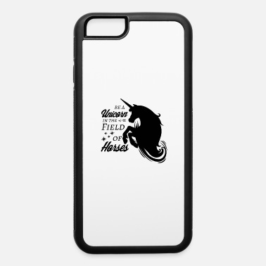 Black Unicorn in black - iPhone 6 Case