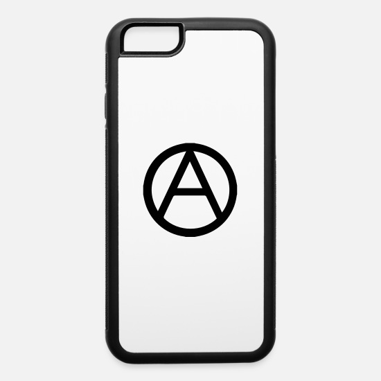 Anarchy iPhone Cases - Circled A - iPhone 6 Case white/black