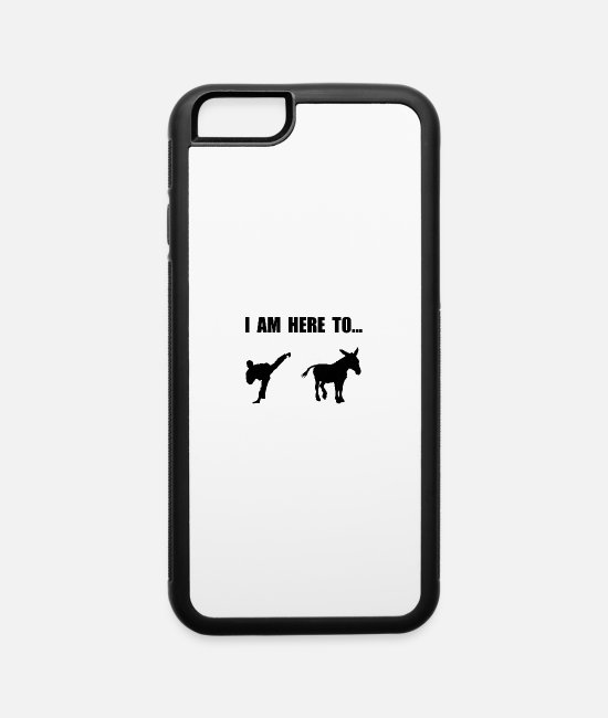 Ass iPhone Cases - Kick Ass - iPhone 6 Case white/black