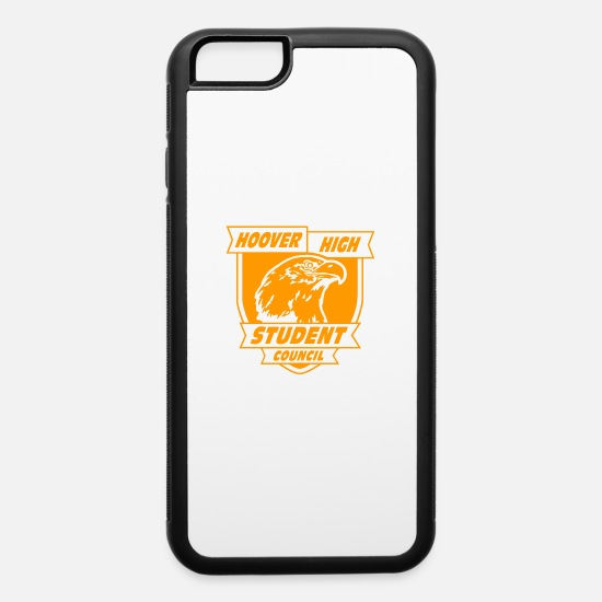 Council iPhone Cases - Hoover High Student Council - iPhone 6 Case white/black