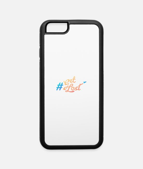 Hashtag iPhone Cases - #GetLost Summer 2017 - iPhone 6 Case white/black