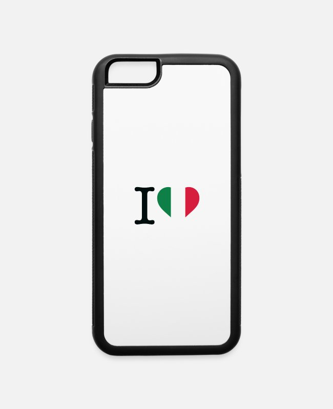 Tijuana iPhone Cases - I Love Mexico - iPhone 6 Case white/black