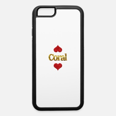 Coral Coral - iPhone 6 Case