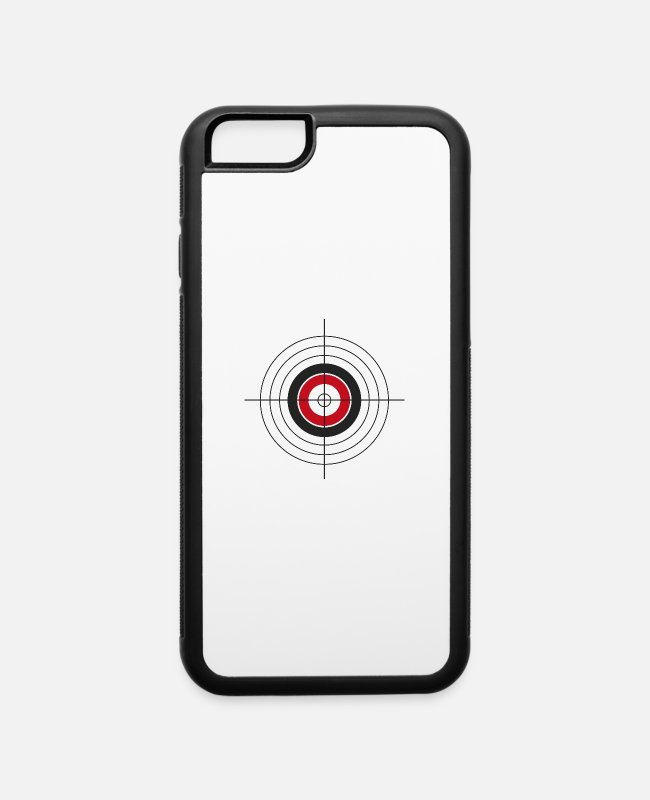 Arrow iPhone Cases - archery arrow bow crossbow target sports61 - iPhone 6 Case white/black