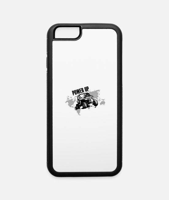 Atv iPhone Cases - Power Up - iPhone 6 Case white/black