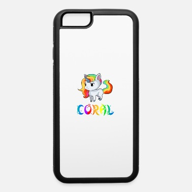 Coral Coral Unicorn - iPhone 6 Case