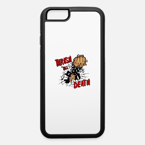 Thrash iPhone Cases - Thrash Death - iPhone 6 Case white/black
