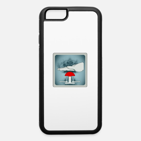 Weapon iPhone Cases - nuclear threat - iPhone 6 Case white/black