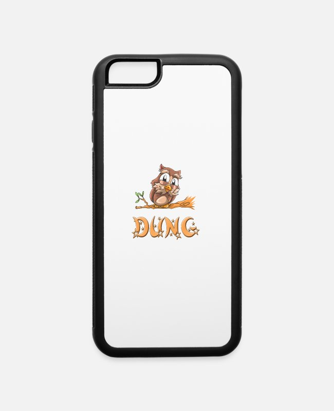 Dung Owls iPhone Cases - Dung Owl - iPhone 6 Case white/black