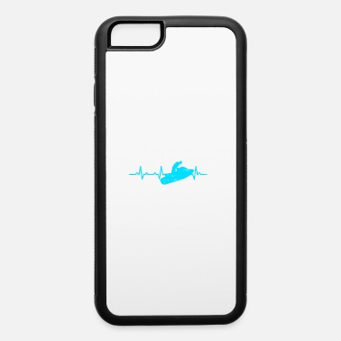 Watercraft Jetski Lover Watercraft Heartbeat Gift T-shirt - iPhone 6 Case