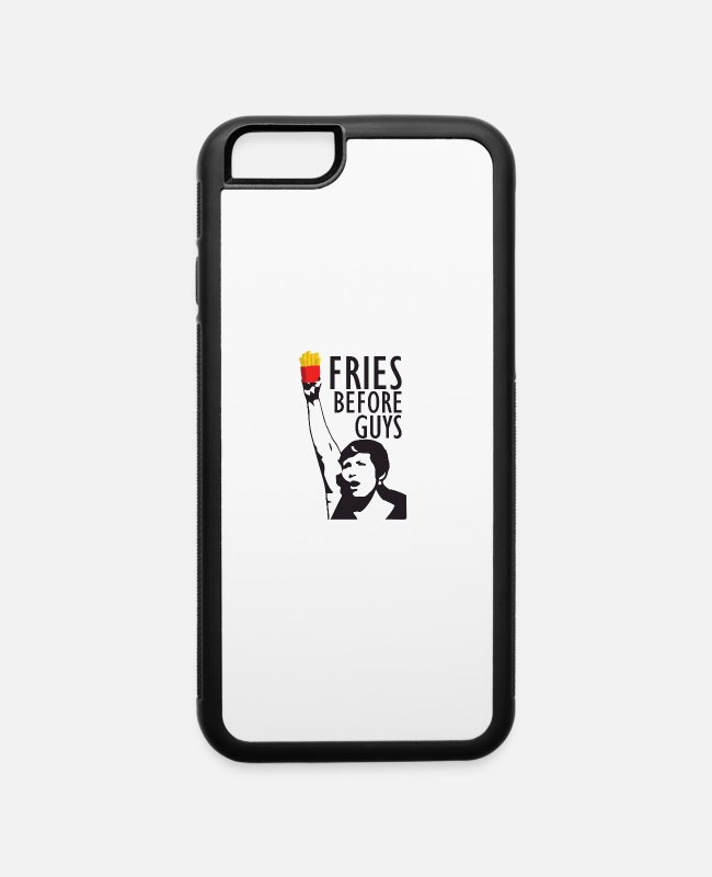 Heart iPhone Cases - Frauenpower for Fries - iPhone 6 Case white/black