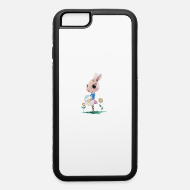 Easter Bunny Sketched Easter Bunny, Cute Bunny Easter Bunny - iPhone 6/6s Rubber Case