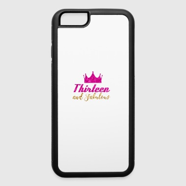 13th Birthday 13th Birthday Girl - iPhone 6/6s Rubber Case