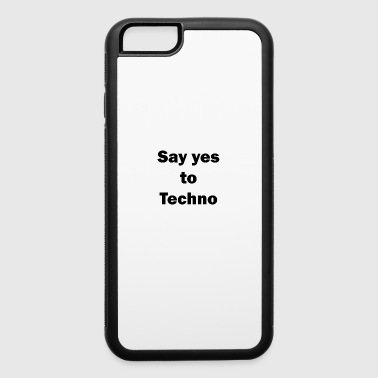 Techno Music Festival Gift Ideas Party Rave - iPhone 6/6s Rubber Case