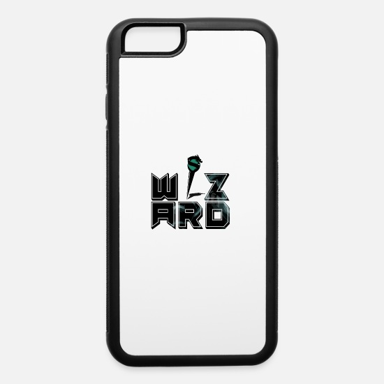 Wizard iPhone Cases - Wizard - iPhone 6 Case white/black