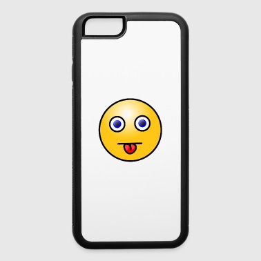 Emoticons Tongue Out - iPhone 6/6s Rubber Case
