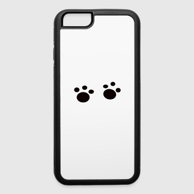 day dog lover gift idea sweet pet - iPhone 6/6s Rubber Case