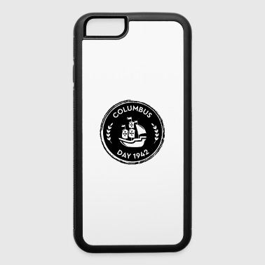 Columbus Day USA America holiday gift idea - iPhone 6/6s Rubber Case