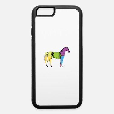 Pony Stall Horse Pony Stall Animal Horseshoe Saddle Gift - iPhone 6 Case