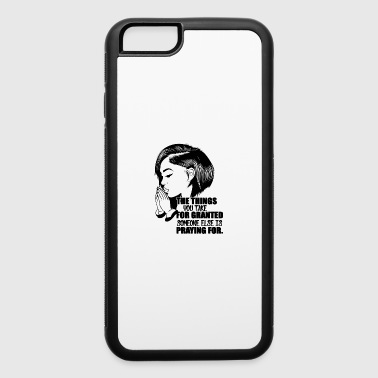 people praying pretty hairstyle quotes copy - iPhone 6/6s Rubber Case