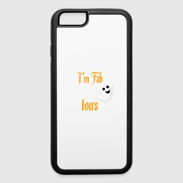 Halloween Fab BOO lous Ghost - iPhone 6/6s Rubber Case