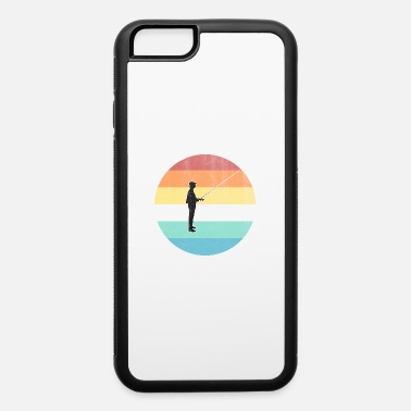 Fisherman Fishing - iPhone 6/6s Rubber Case