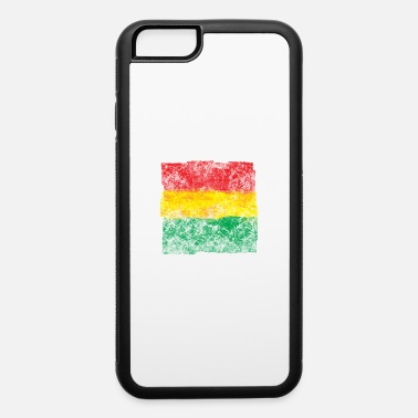 Rasta 3 colors makes me happy - iPhone 6/6s Rubber Case