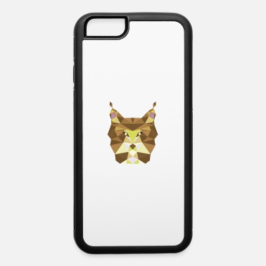 Polygon Low Poly Art Lynx Fantasy - Gift Idea - iPhone 6/6s Rubber Case