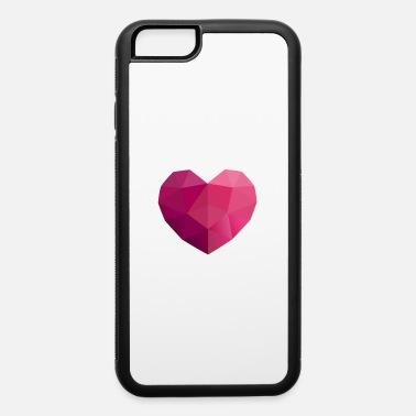 Geometric heart geometric design - iPhone 6 Case