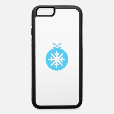 Snowflake Snowflake in christmas tree ball - iPhone 6 Case