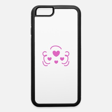 Activist Owl love animal sheer - iPhone 6/6s Rubber Case