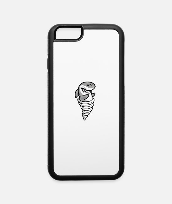 Movie iPhone Cases - Tornado Shark - iPhone 6 Case white/black