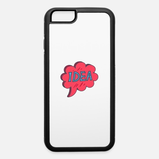 Cloud iPhone Cases - Cloud of Ideas - iPhone 6 Case white/black