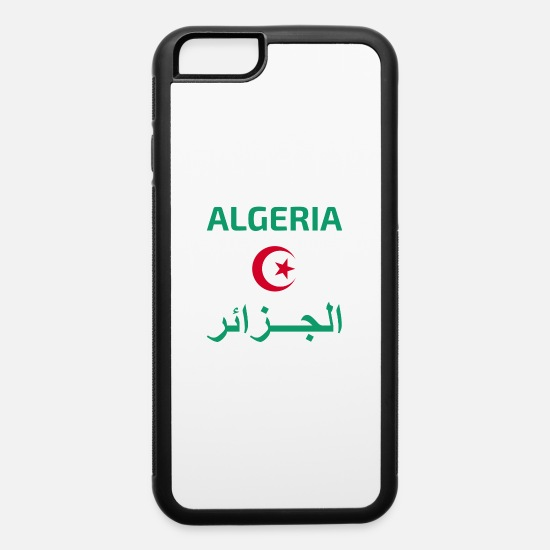Algeria iPhone Cases - Algeria - iPhone 6 Case white/black