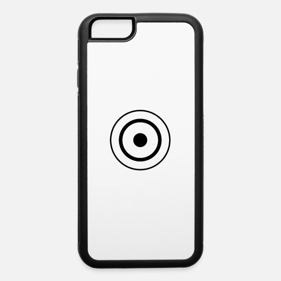 Bullseye iPhone Cases - Bullseye - iPhone 6 Case white/black