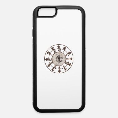 Bronzing Clock End time 5vor12 Lily - iPhone 6 Case