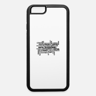 Anonymous Finance Words Bitcoin Blockchain Hodl Altcoin Gift - iPhone 6 Case