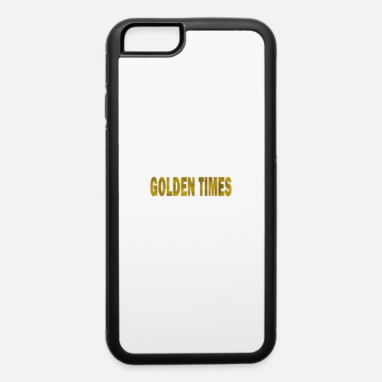 Birthday iPhone Cases - Golden Times - iPhone 6 Case white/black