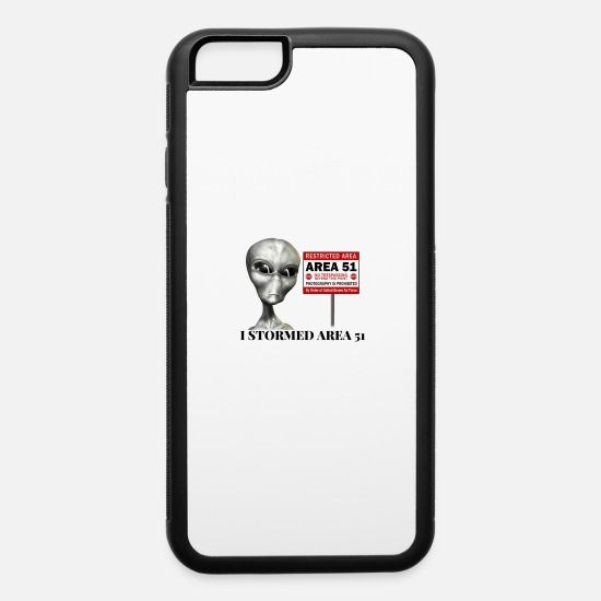 Area 51 iPhone Cases - Area 51 - iPhone 6 Case white/black