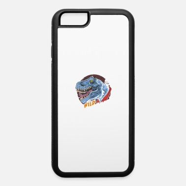 Headdress Dinosaur t rex head wild beast roar - iPhone 6 Case