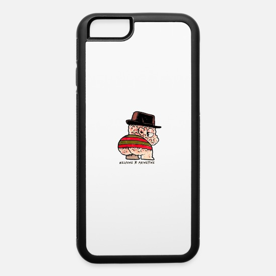 Big iPhone Cases - Welcome to primetime killer creature - iPhone 6 Case white/black